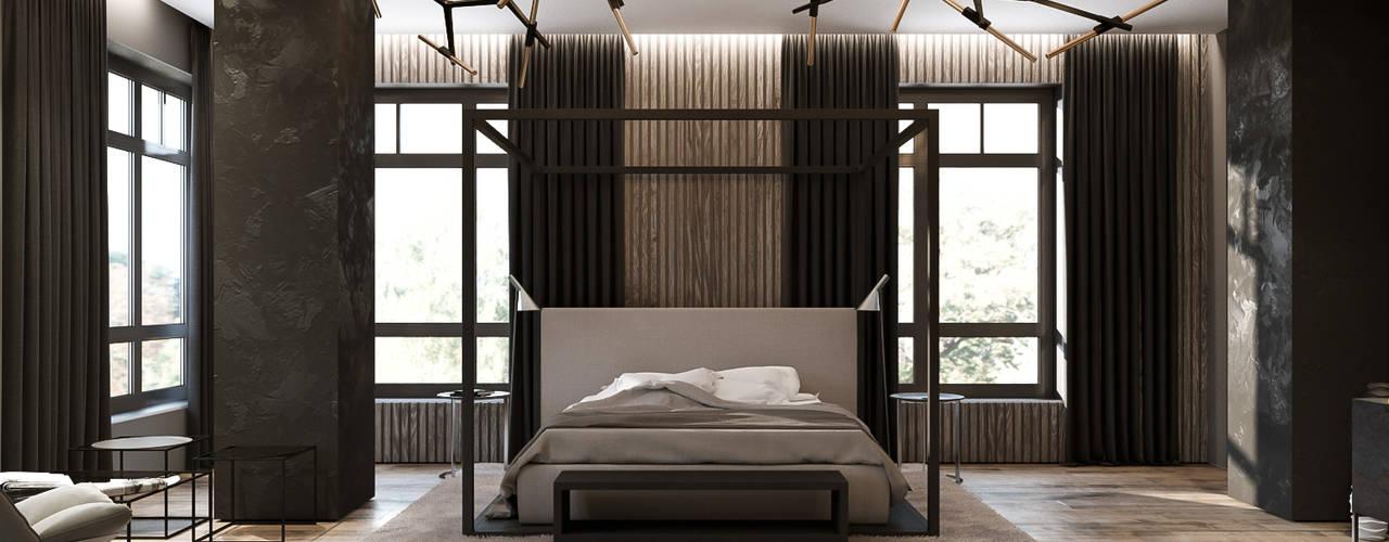Projekty,  Sypialnia zaprojektowane przez ZIKZAK architects