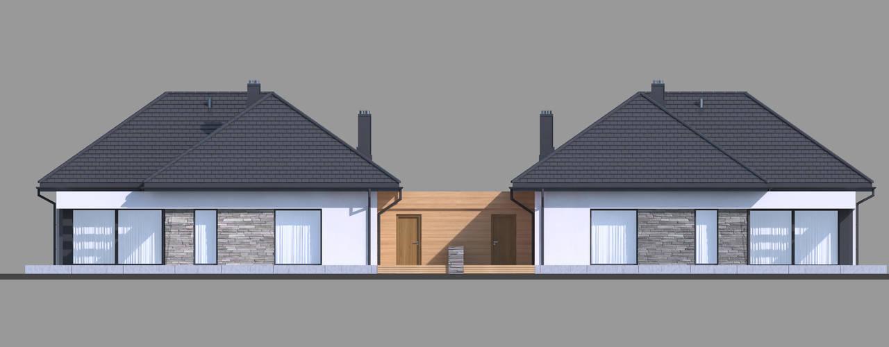 Projekt domu HomeKONCEPT-42B: styl , w kategorii Domy zaprojektowany przez HomeKONCEPT   Projekty Domów Nowoczesnych