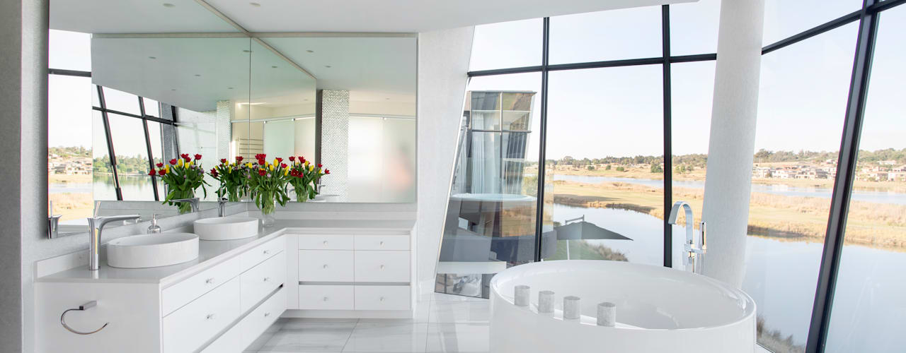 Modern style bathrooms by FRANCOIS MARAIS ARCHITECTS Modern