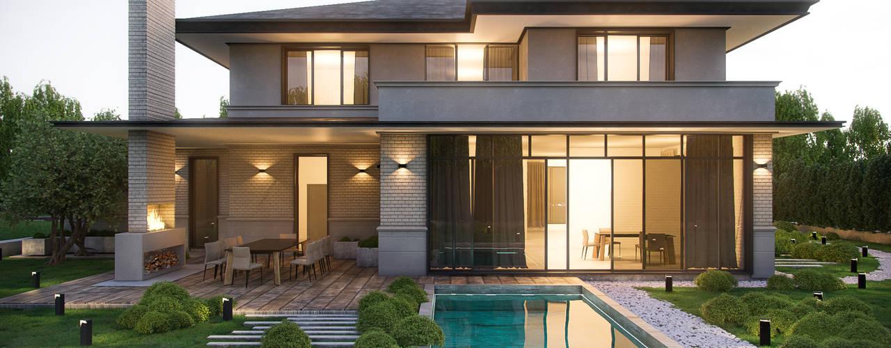 Дома в . Автор – ZIKZAK architects