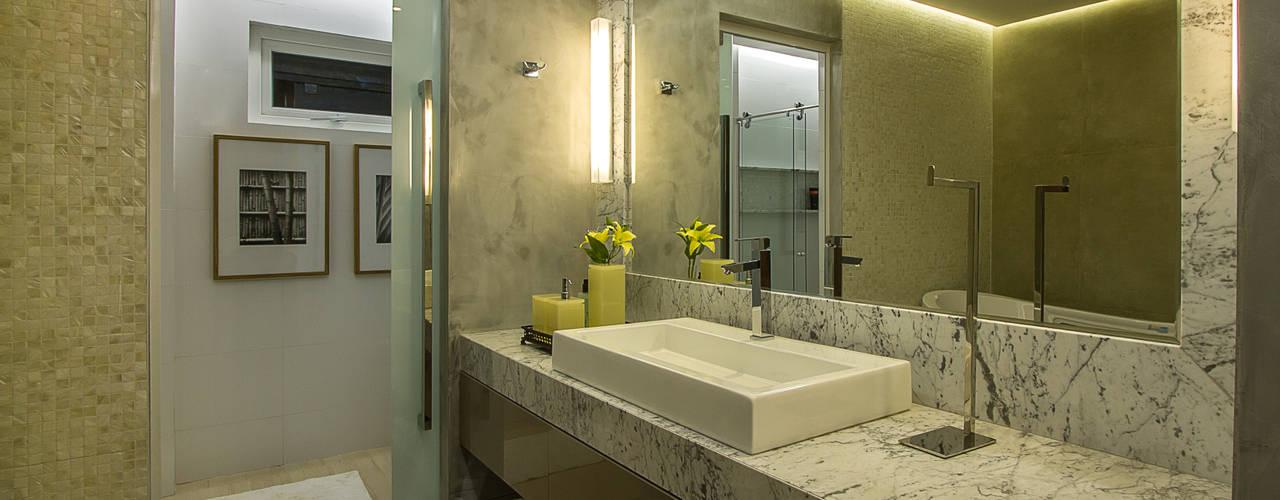 Baños de estilo  por Cris Nunes Arquiteta