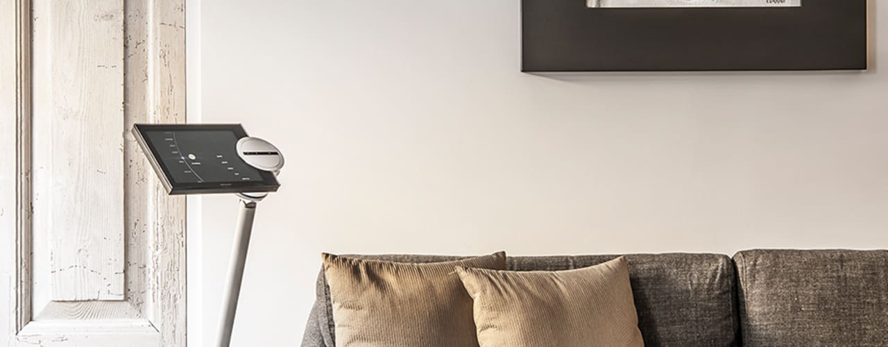 Salas modernas de BRANDO concept Moderno