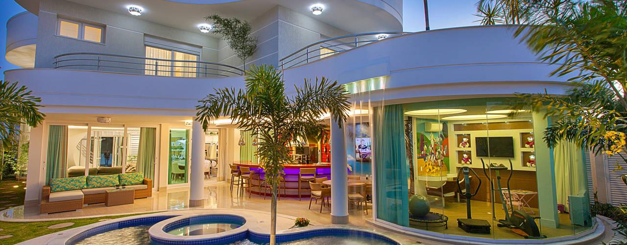 Casa Villa Lobos Casas modernas por Arquiteto Aquiles Nícolas Kílaris Moderno