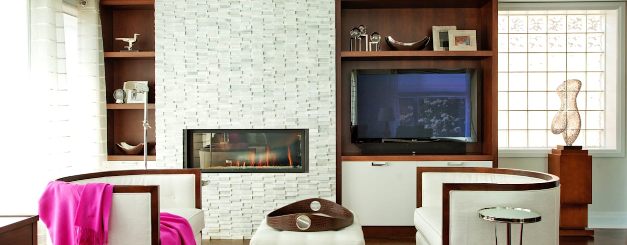 Projekty,  Salon zaprojektowane przez Collage Designs