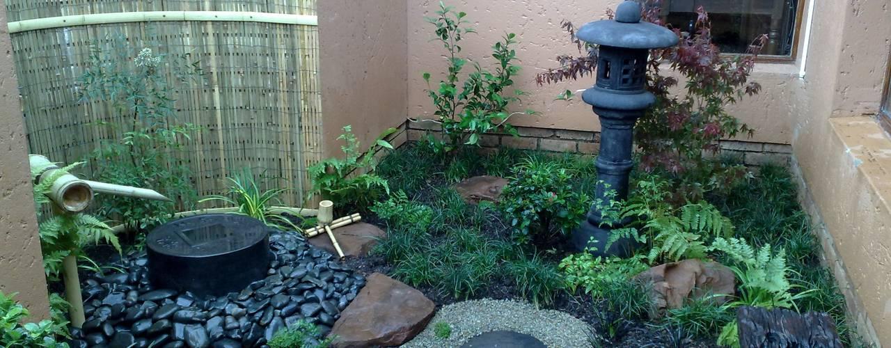 Jardines de estilo  por Japanese Garden Concepts, Asiático