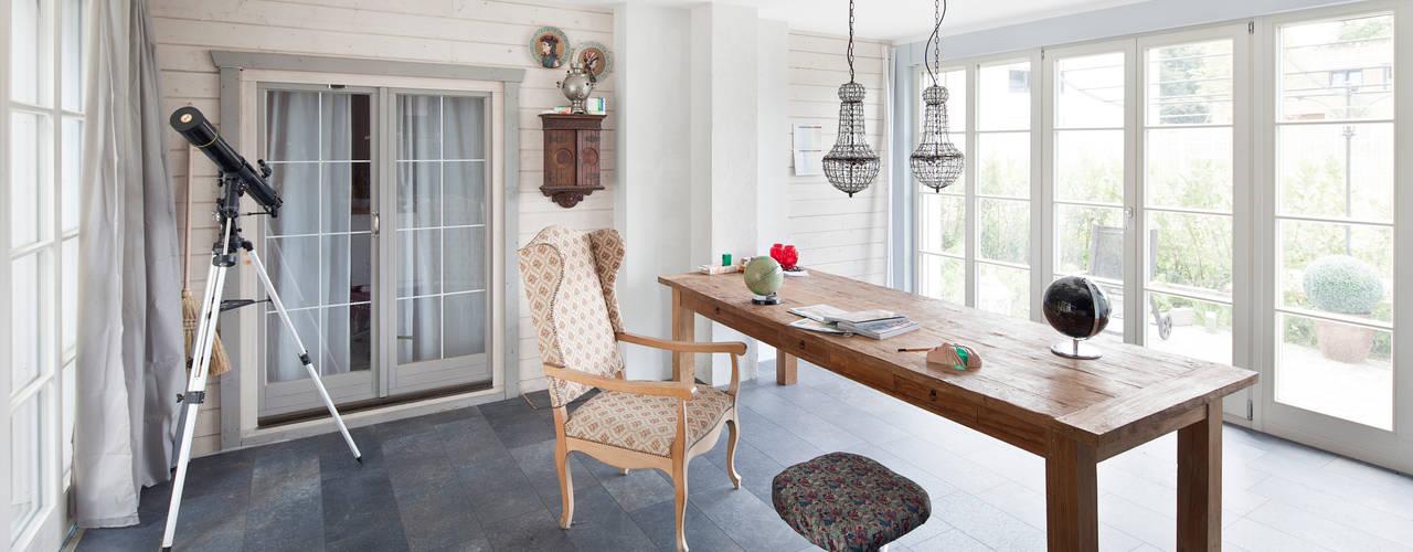 Projekty,  Domowe biuro i gabinet zaprojektowane przez Müllers Büro