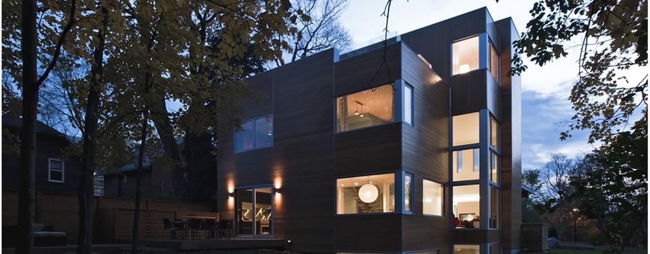 Moderne huizen van Linebox Studio Modern