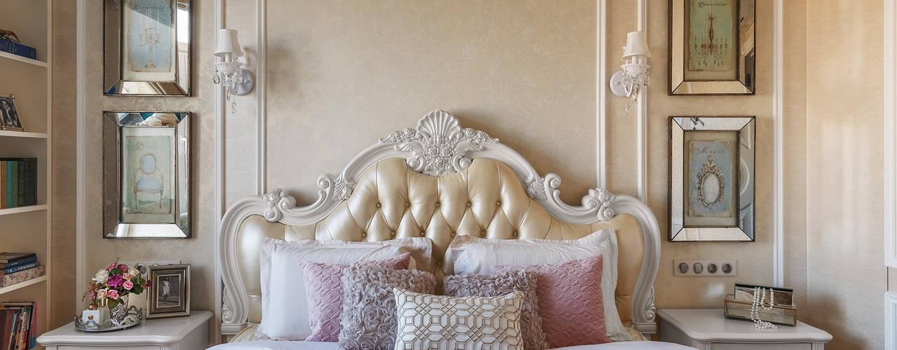 Спальни в . Автор – design studio by Mariya Rubleva