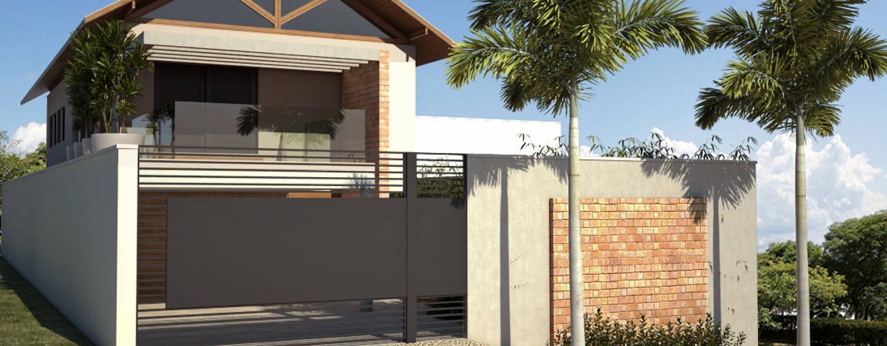 Casa BT : Casas  por canatelli arquitetura e design