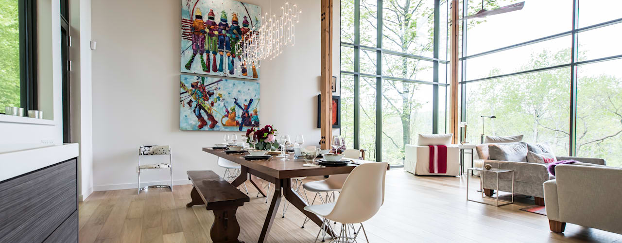 Dining room by BLDG Workshop Inc.