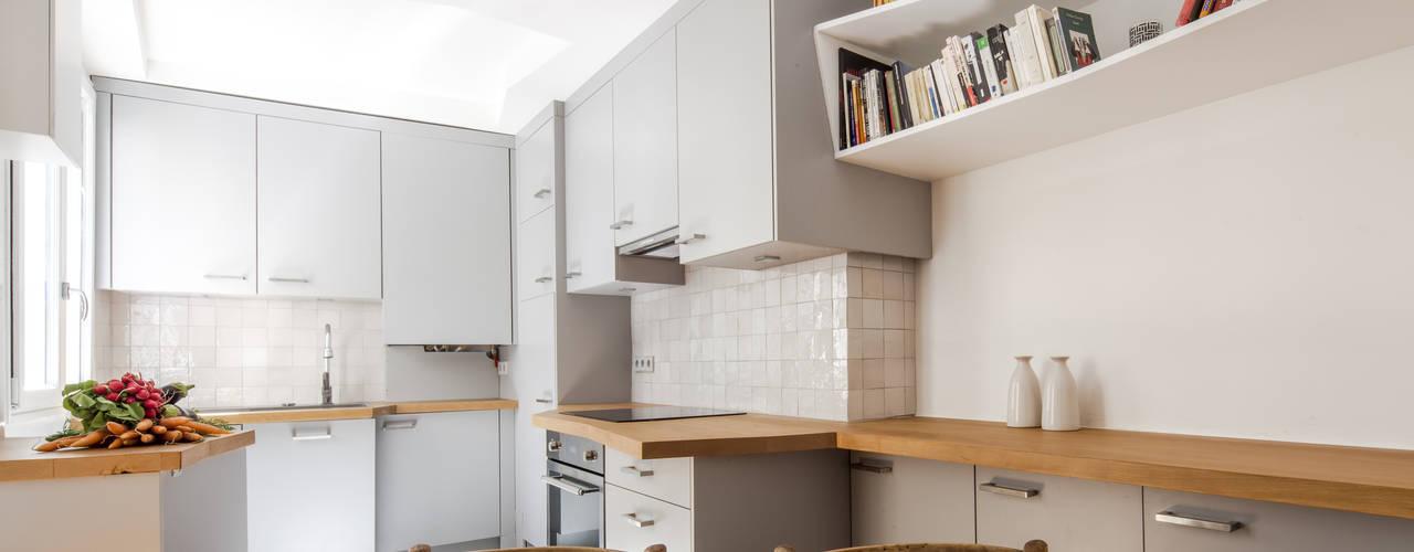 Modern kitchen by Florence Gaudin architecte Modern