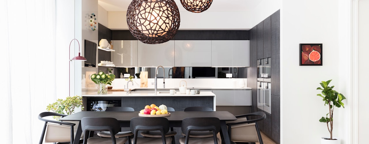 تنفيذ Black and Milk | Interior Design | London