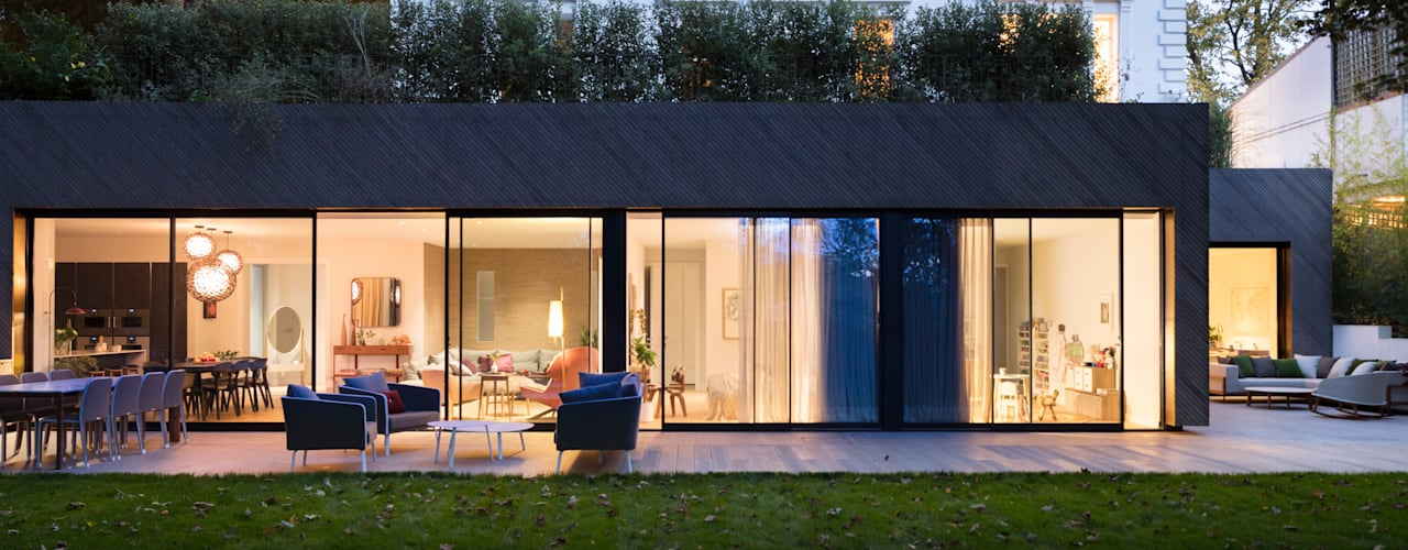 Modern New Home in Hampstead Black and Milk | Interior Design | London Balconies, verandas & terraces Accessories & decoration