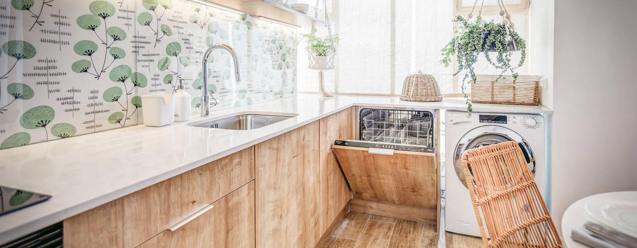 scandinavian Kitchen by homify