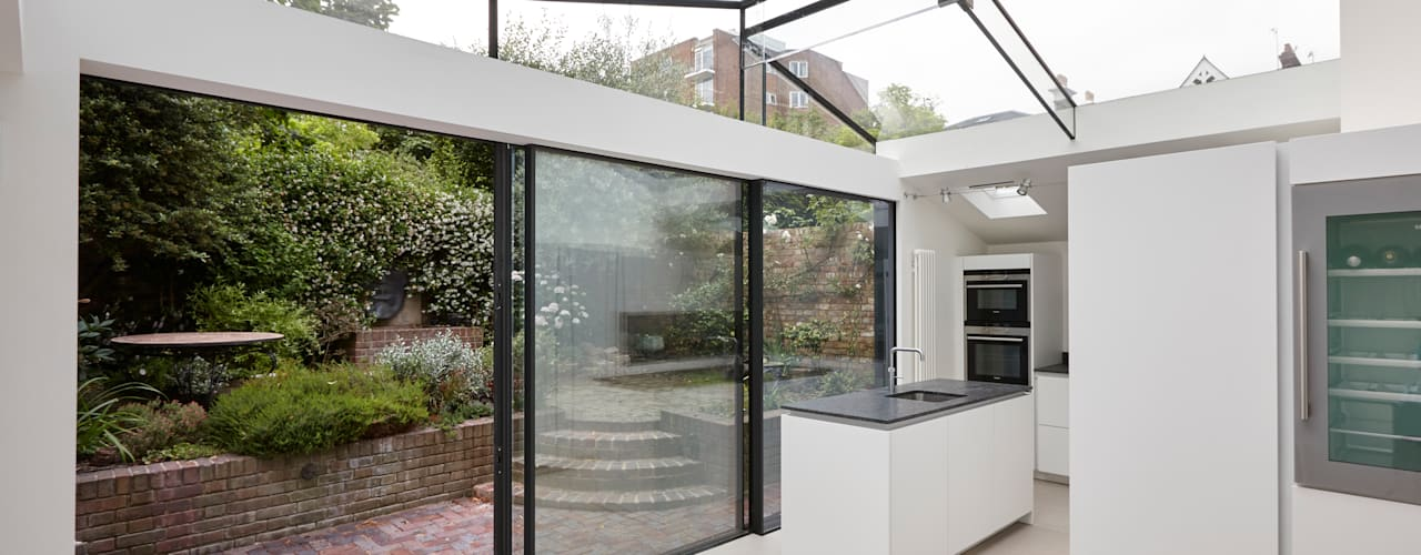 Richmond Kitchen Extension Modern kitchen by Trombe Ltd Modern