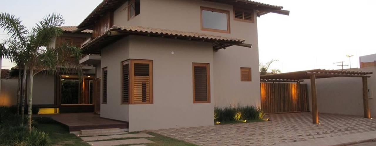Casas de estilo rústico de Cia de Arquitetura Rústico