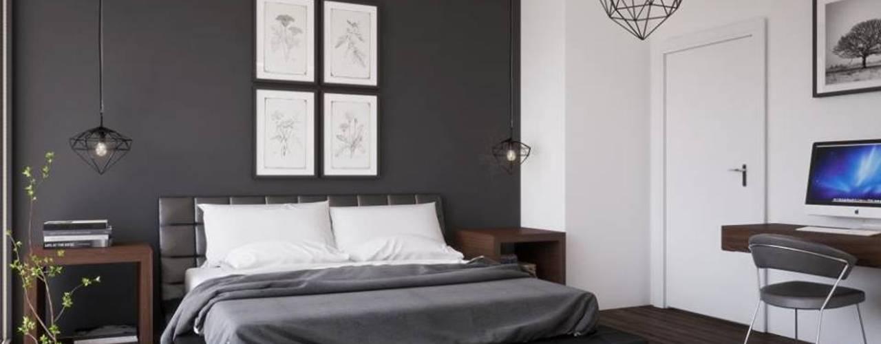 غرفة نوم تنفيذ LK&Projekt GmbH