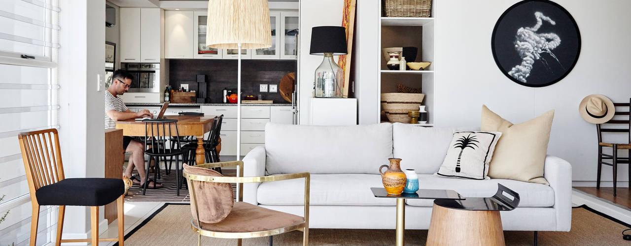 Apartment Boundary:  Living room by Liam Mooney Studio