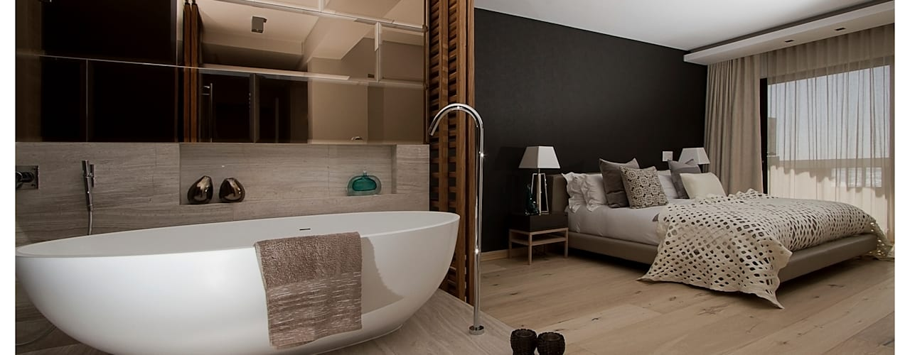 Salle de bain moderne par Make Architects + Interior Studio Moderne
