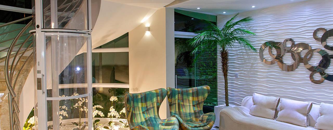 Casa Malibu: Salas de estar  por Arquiteto Aquiles Nícolas Kílaris,Moderno