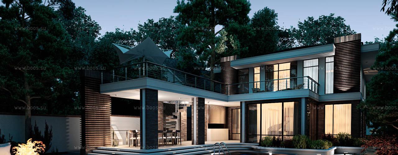 Marino house BOOS architects Дома в скандинавском стиле
