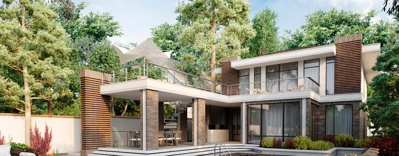 Marino house: Дома в . Автор – BOOS architects