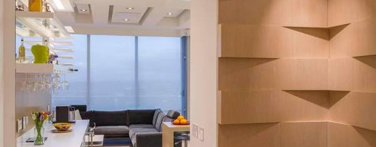 Pasillos y vestíbulos de estilo  por Bloque B Arquitectos