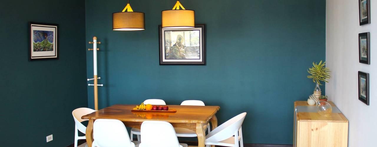 Casa PM (Antes y Después) Comedores modernos de Médula Diseño de Interiores Moderno
