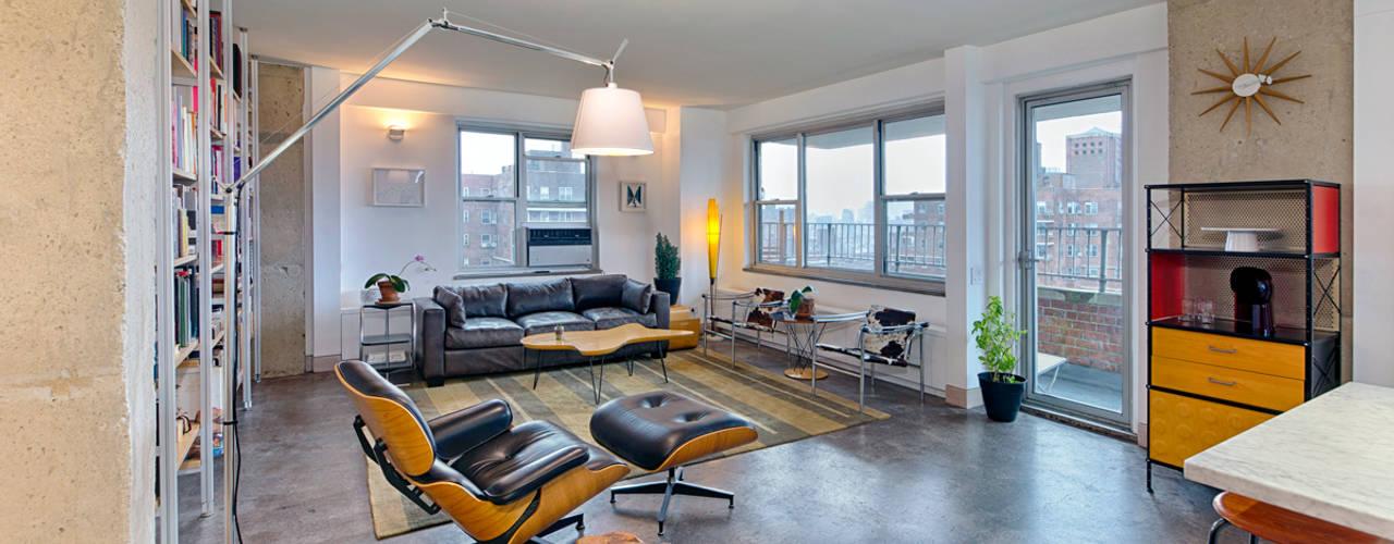 Heller Residence Modern Living Room by Greg Colston Architect Modern