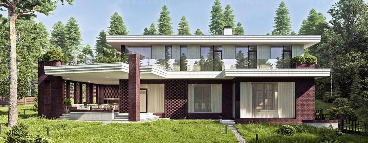 Cvetnik house: Дома в . Автор – BOOS architects