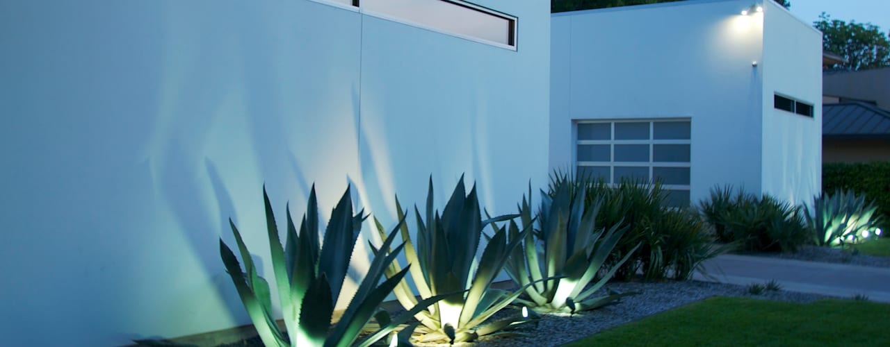 Minimalistische tuinen van Matthew Murrey Design Minimalistisch