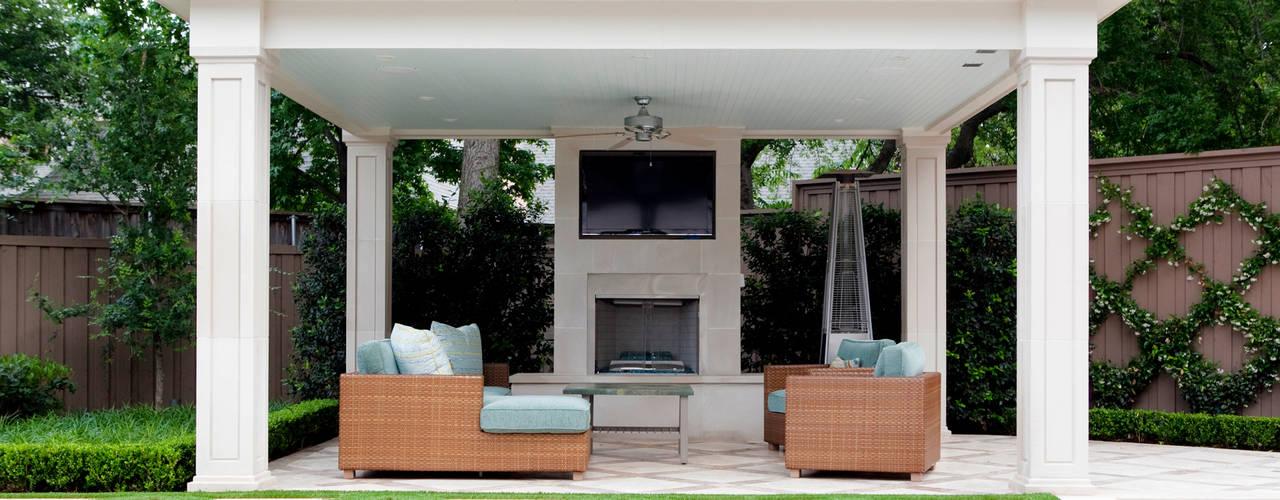 Eclectische balkons, veranda's en terrassen van Matthew Murrey Design Eclectisch