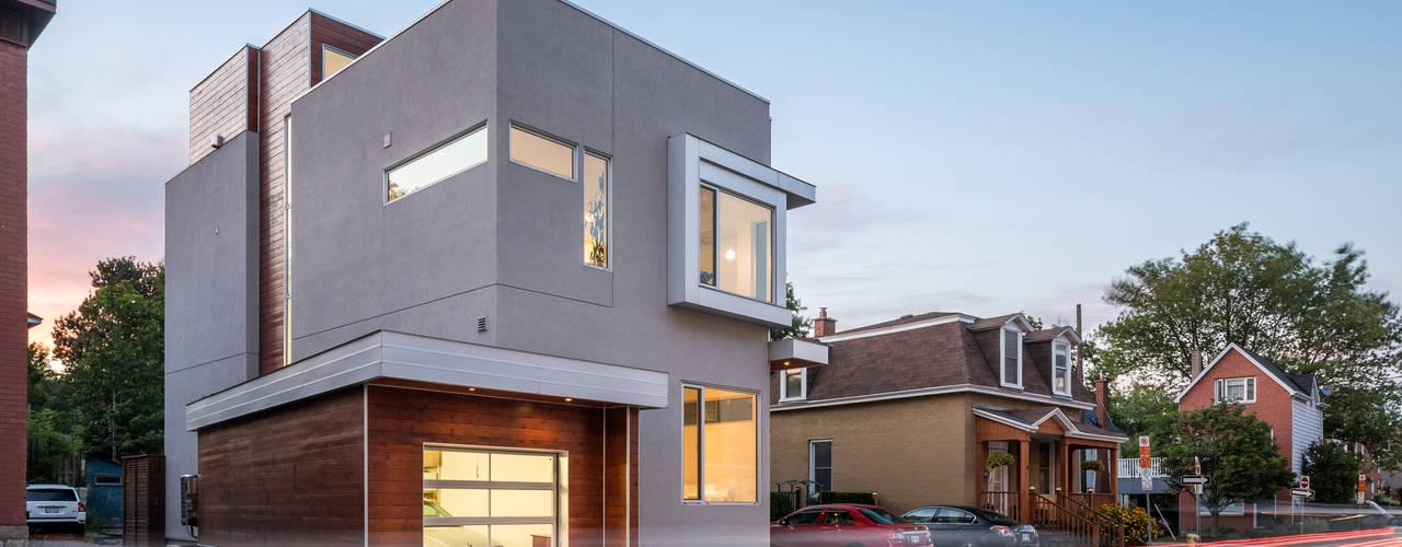 Projekty,  Domy zaprojektowane przez Linebox Studio