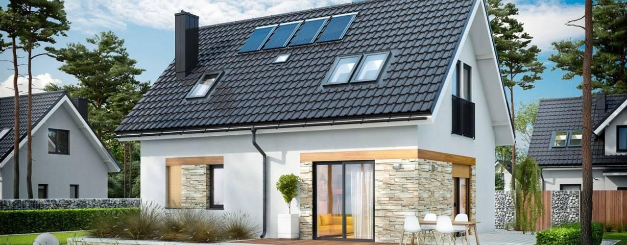 Modern houses by Pracownia Projektowa ARCHIPELAG Modern