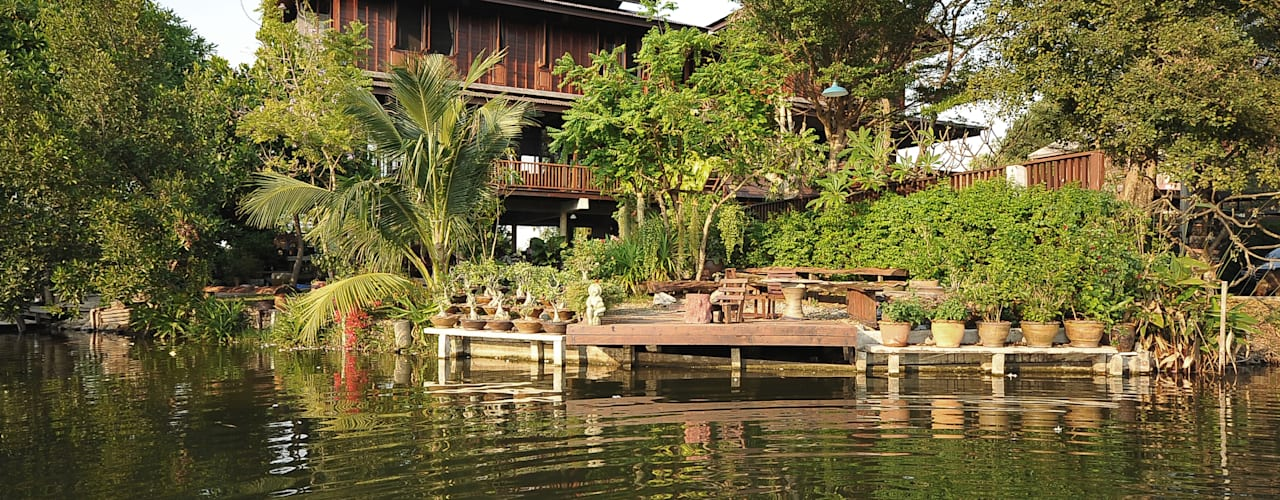Baan Kong ( Grandfather's house):  บ้านและที่อยู่อาศัย by บริษัท สถาปนิกชุมชนและสิ่งแวดล้อม อาศรมศิลป์ จำกัด