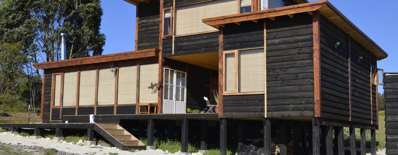 Casas de estilo rústico de BLAC arquitectos Rústico