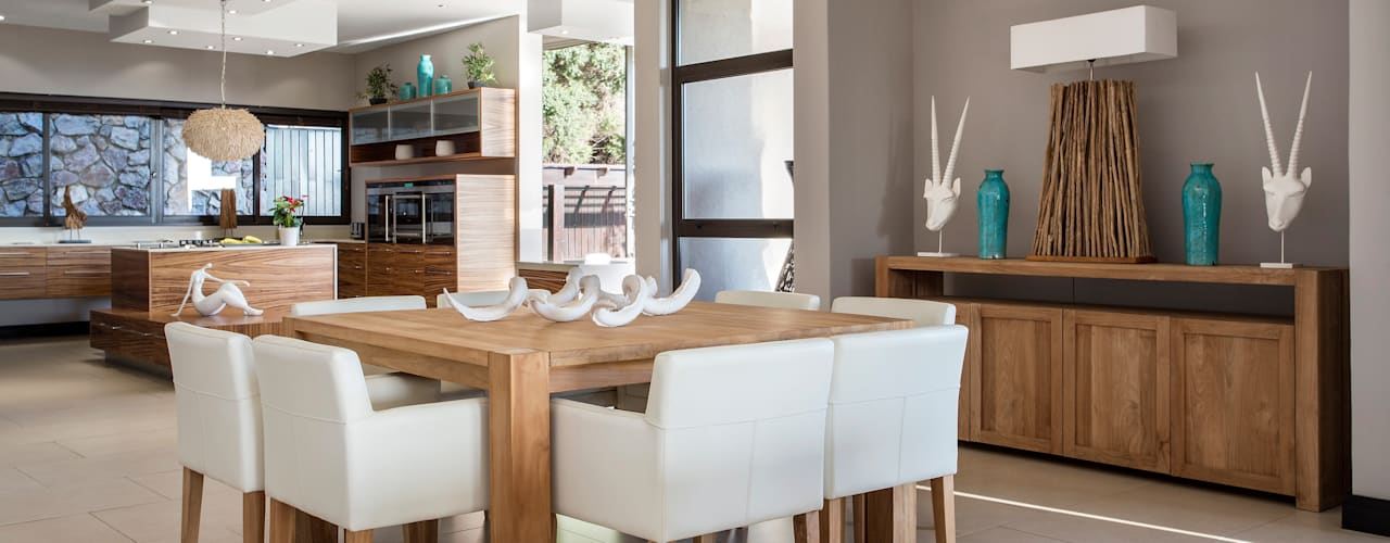 The Home on a Hill Modern dining room by FRANCOIS MARAIS ARCHITECTS Modern
