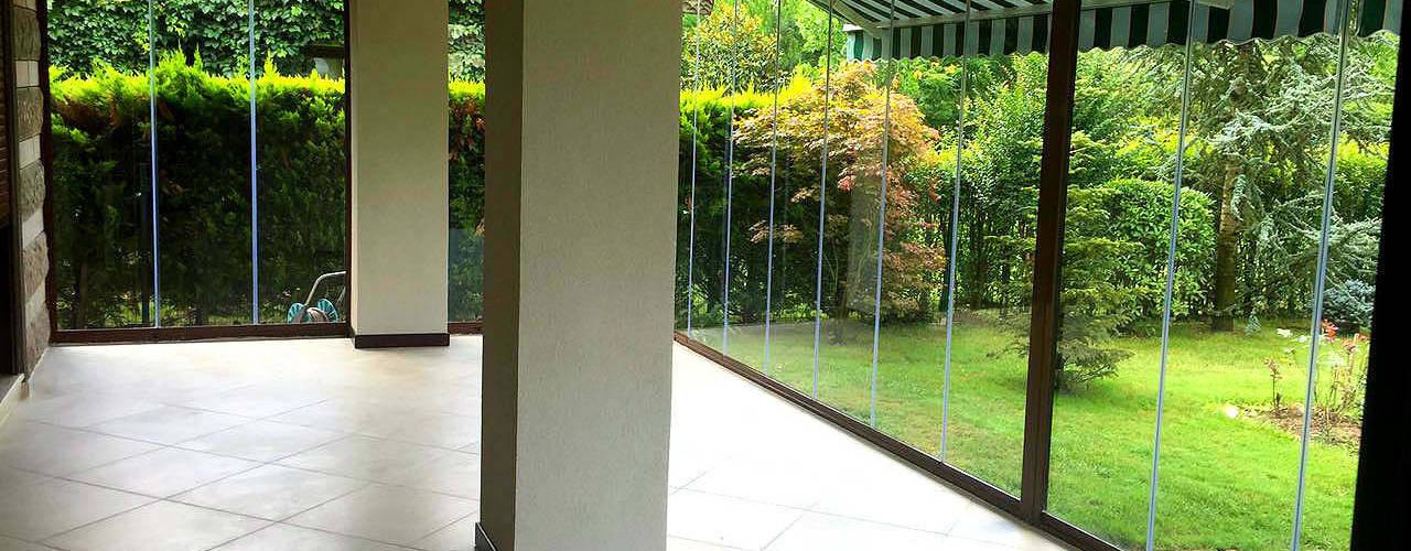 Mandalin Dizayn – İstanbul Ömerli Riverside Evleri Villa Projesi:  tarz Kış Bahçesi