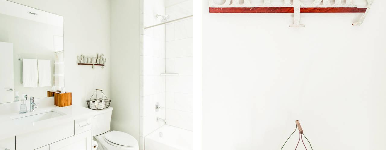 Brett Nicole Interiors:  tarz Banyo