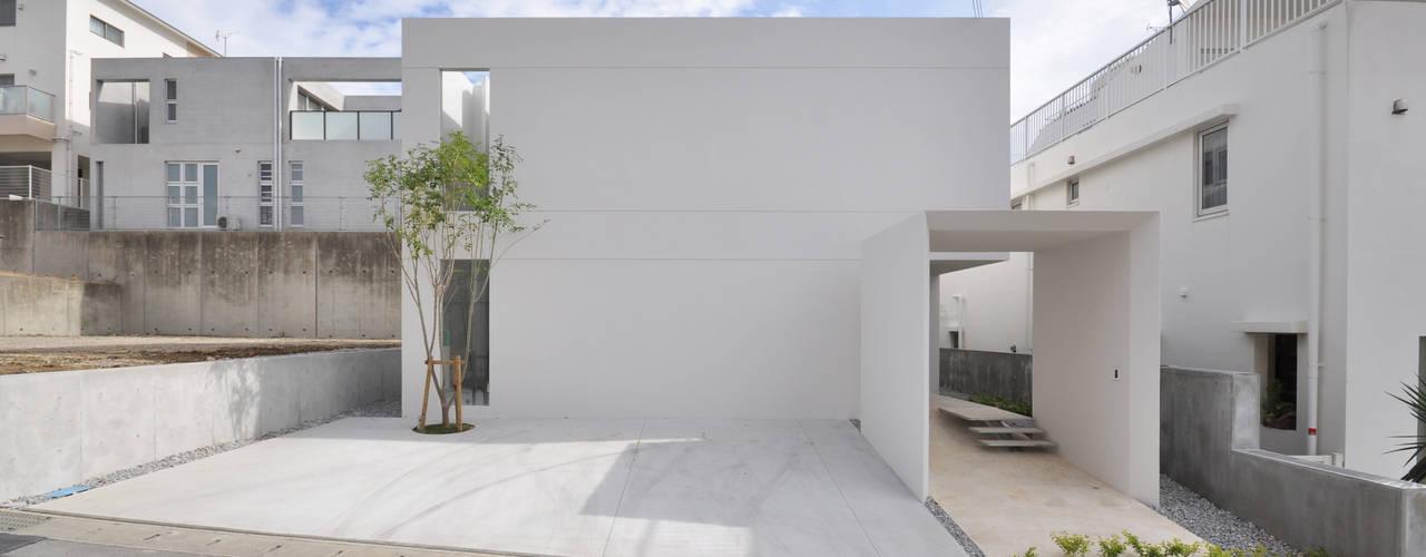 Rumah Modern Oleh 門一級建築士事務所 Modern