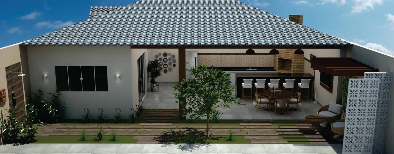 Moderne Häuser von SM Arquitetura e Engenharia Modern