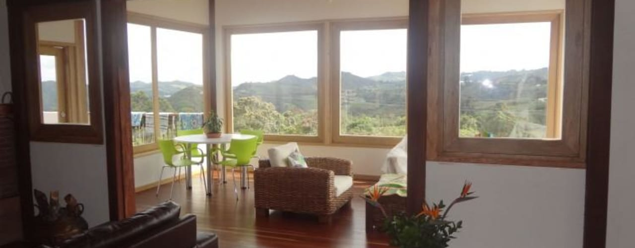 Ruang Keluarga by PREFABRICASA