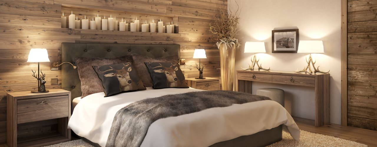 homify Country style bedroom
