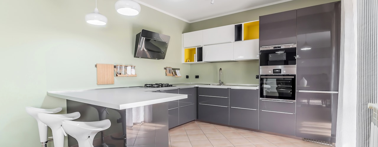 8 Idee Fantastiche per Rischiarare una Cucina Totalmente Buia
