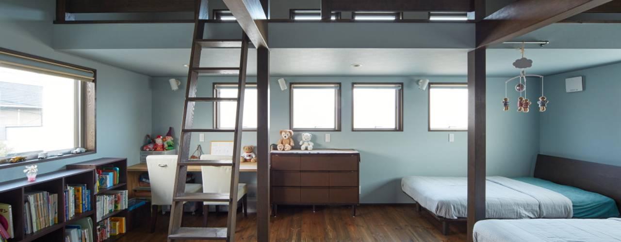 WABI: stage Y's 一級建築士事務所が手掛けた子供部屋です。
