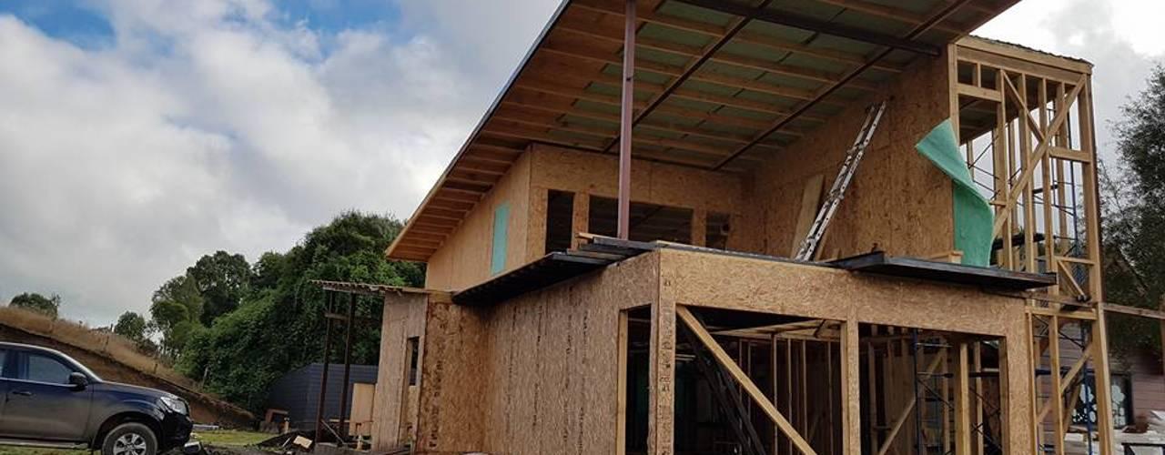Casas de estilo moderno por GerSS Arquitectos