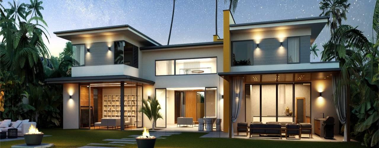 Houses by Компания архитекторов Латышевых 'Мечты сбываются', Mediterranean
