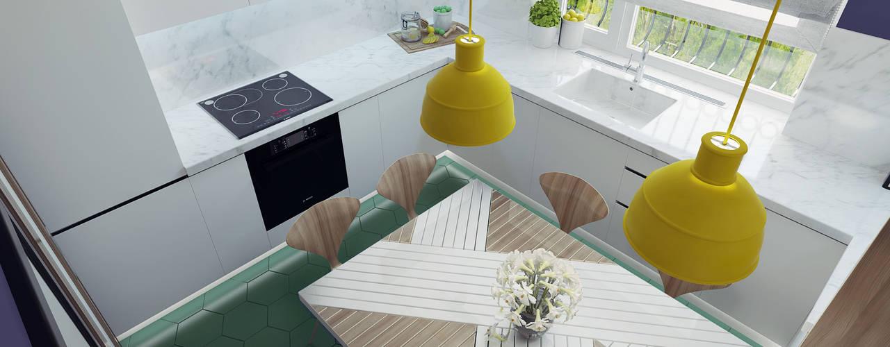 ห้องครัว by Ksenia Konovalova Design