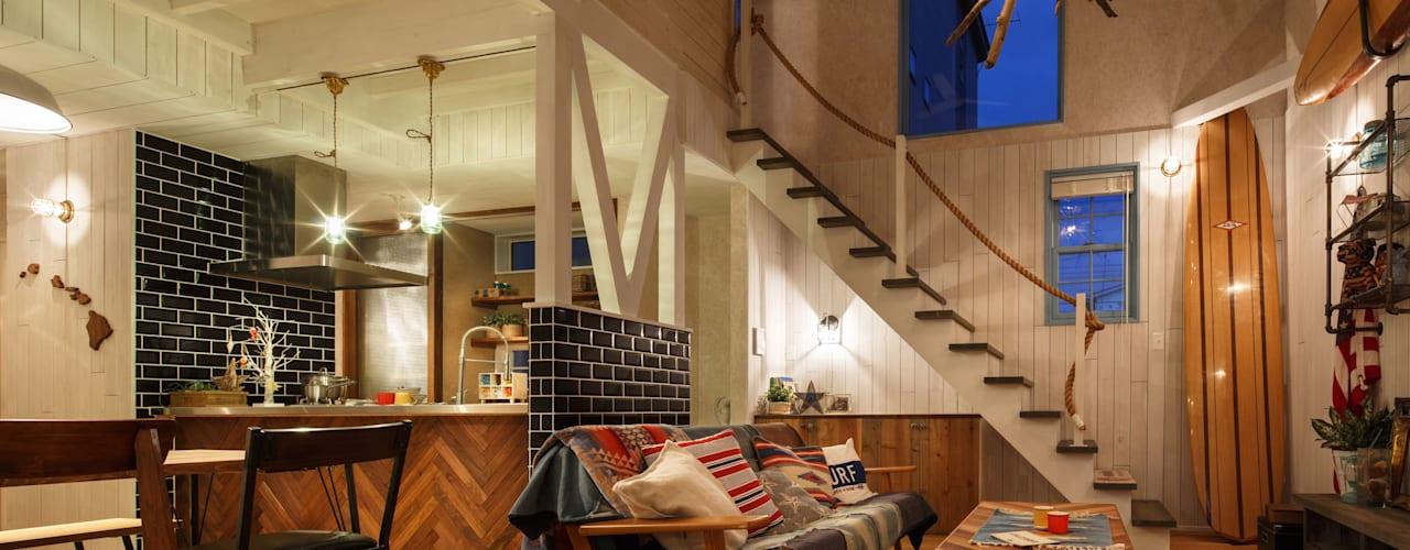 Living room by dwarf, Eclectic