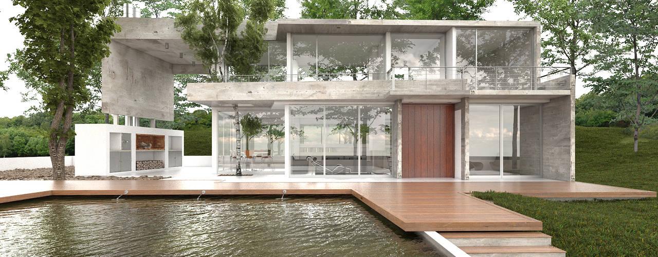 : Casas de estilo  por CN y Arquitectos, Moderno